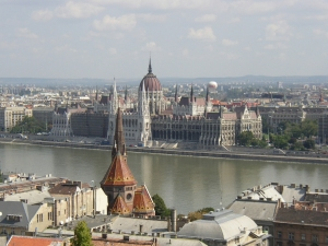 Budapest divided by the Danube