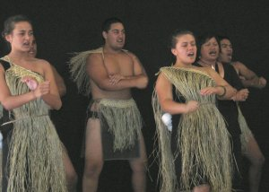 Maori Dancers Group