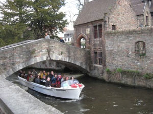Bruges, Belgium - cruising the many canals