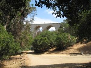 As trail approaches Laurel Street Bridge