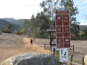 Trailhead entry - Big Rock Trail