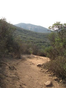 On trail toward Cowles
