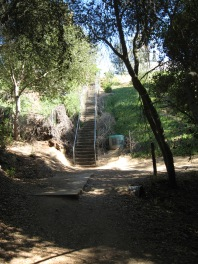 Cobb stairs at entry