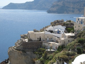One of Oia's many splendid views on the island of Santorini